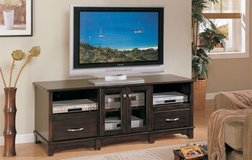 CAPPUCCINO TV STAND FREE DELIVERY in Huntington Beach, California
