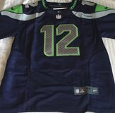 #12 FAN Seahawks Blue Stitched Nike NFL Adult XL Jersey (NEW) in Fort Lewis, Washington