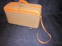 HARTMANN LUGGAGE Tweed with Leather Trim VINTAGE in Glendale Heights, Illinois