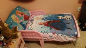 Toddler bed in Schofield Barracks, Hawaii