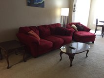 Couch and lounge chair in Mayport Naval Station, Florida