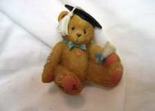 Graduation Priscilla Hillman 127949 1995 Diploma College Figurines Bearstone in Kingwood, Texas