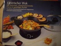 electric wok 220 V in Ramstein, Germany