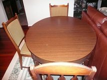 Dining Table+4 chairs in Fairfax, Virginia
