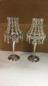 Crystal Candle Lamps in Mayport Naval Station, Florida