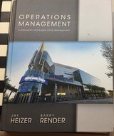 Book - Operations Management used at Troy University in Fort Rucker, Alabama