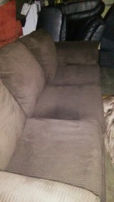 Brown couch in Dothan, Alabama