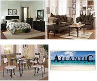 Brand New 3 Room Package Deal!! Living, Dining, and Bedroom sets in Virginia Beach, Virginia