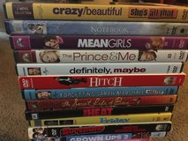 Variety of dvds (lot of 12) in Fairfield, California