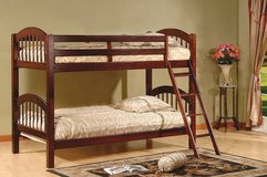 Twin/Twin Solid Wood Bunk Beds-BRAND NEW in Virginia Beach, Virginia