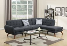 ASH BLACK SECTIONAL FREE DELIVERY in Huntington Beach, California