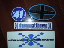Dave Matthews Band Stickers in Warner Robins, Georgia