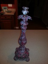 METAL IRON CANDLE STICK HOLDER 16 INCHES in Sandwich, Illinois