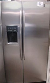 23 CU. FT. GE PROFILE ARCTICA SIDE-BY-SIDE WITH WARRANTY(FINANCING) in Vista, California