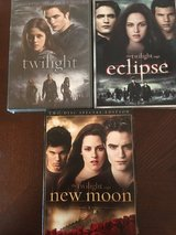 3 Of the Twilight series dvds (unopened) in Byron, Georgia
