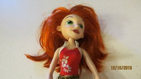 "Disney Kim Possible Doll Red Rooted Hair Green Eyes 10"" Tall Original Outfit in Byron, Georgia"