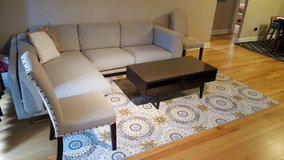 SECTIONAL COUCH ALMOST NEW in Bartlett, Illinois
