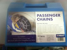Tire chains in Yucca Valley, California