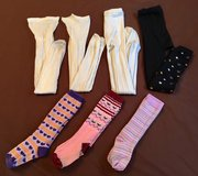 Girls Sz6-7 ChildrensPlace, JCPenney Stockings, Leggings, Tights, etc. in Okinawa, Japan