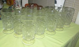 THIRTEEN (13) VINTAGE AMERICAN WHITEHALL DRINKING GLASSES in Cherry Point, North Carolina