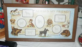 Never used DOG PICTURE FRAME in Cherry Point, North Carolina