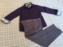 Button Down Long Sleeve & Pants Boys Sz8 in Okinawa, Japan