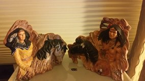 Set of very nice statues, hand painted in Bolingbrook, Illinois