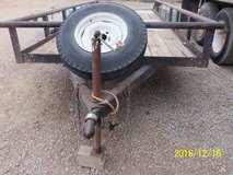 Flatbed Utility Pole Trailer in Alamogordo, New Mexico