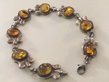 Amber & Sterling Silver Bracelet in Perry, Georgia