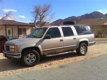 99 4x4 GMC suburban SLT loaded in 29 Palms, California