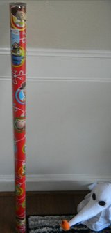 Disney Toy Story 3 Christmas Gift Wrap Wrapping Paper Roll NEW Sealed 70 Square Feet in Kingwood, Texas