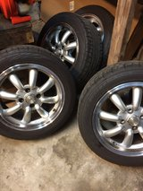 Konig Rewind 15x7 Wheels 4x100 with Tires in Warner Robins, Georgia