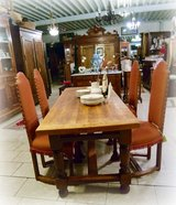 beautiful farm house table made of solid oak in Baumholder, GE