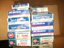 New AC Spark Plug Sets of 8. Assorted numbers. $10 a box! CHEAP in Naperville, Illinois