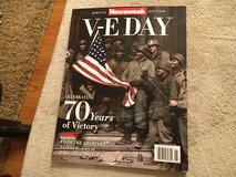 V-E Day Newsweek Special Edition in Joliet, Illinois
