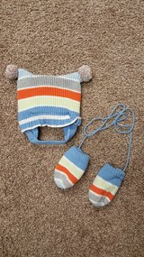 Childrens place hat and mitten set in Plainfield, Illinois