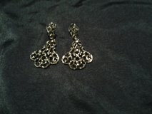 Silver Earrings in Eglin AFB, Florida