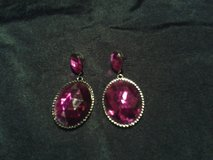 Purple Earrings in Eglin AFB, Florida