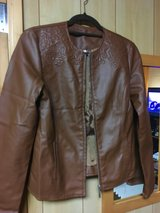 Ladies fake leather jacket  Passports size Small in Okinawa, Japan