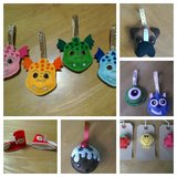 Handmade Christmas baubles, elf shoes and brooches in Lakenheath, UK