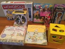 Angelina Ballerina Puzzle set and Board Game Toy in Bartlett, Illinois