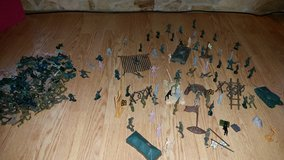 Large lot of Army Men and accessories in Byron, Georgia