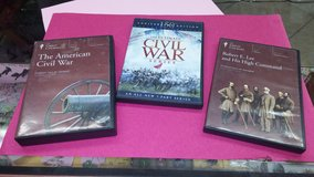 Civil War Collection. 2 DVD courses and 1 bonus movie in Yucca Valley, California