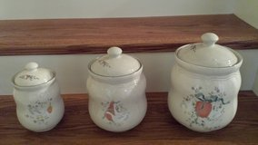 Stoneware Canisters - 3 Piece Set in Houston, Texas