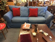 Blue Couch in Bartlett, Illinois