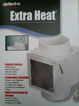 Extra Heat for your Home - Dryer vent heater heating box from Deflecto in Bartlett, Illinois