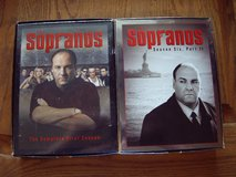 the Sopranos season 1 and season 6 part II dvds in Mountain Home, Idaho