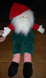 Vintage Musical Shelf Sitter Santa Claus St. Nick Nicholas Old World Music Box Like in Houston, Texas