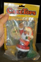 Vintage 1983 Wilton Cake CakeTops Topper Santa Claus New in Package in Houston, Texas