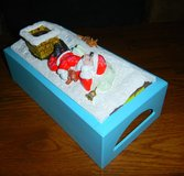 Ceramic ? Christmas Santa Claus Kleenex Tissue Cover Box ~ Rectangle in Houston, Texas